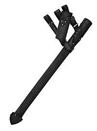Ritter Schwertgehänge schwarz