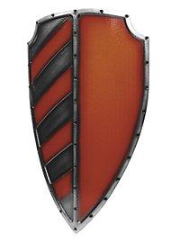 Ritterschild rot Polsterwaffe