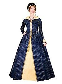 Robe « Reine d'Écosse » bleue