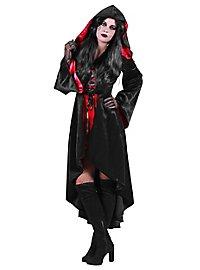 Robe à capuche de diablesse sexy