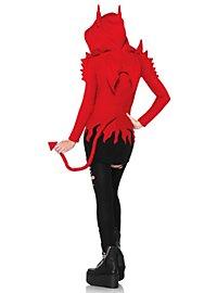 Robe à capuche Diable fou
