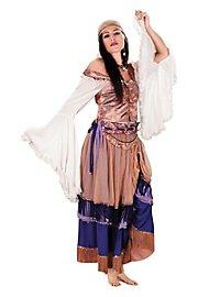 Robe de bohémienne déguisement