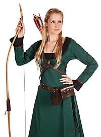 Robe de chasse verte Déguisement