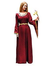 Robe de femme noble rouge