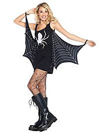 Robe en jersey toiles d'araignée