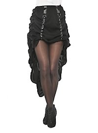 Robe noire avec traîne