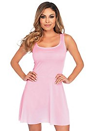 Robe patineuse rose