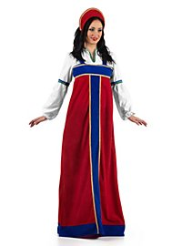 Robe traditionnelle russe