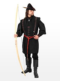 Robin Hood Doublet aus Wildleder