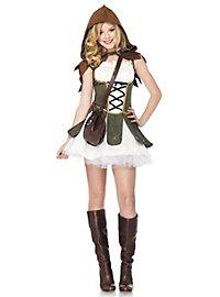 Robin Hood Girl Kostüm für Jugendliche