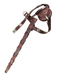Robin Hood Gürtel mit Schwertscheide und Gürteltasche