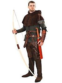 Robin Hood Gugel aus Wildleder