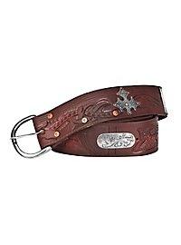 Robin Hood Wide Leather Belt