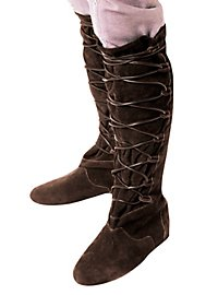 Suede boots - Lanval, brown