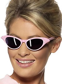 Rockabilly Cateye Brille pink