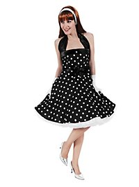 Rockabilly Dress black-white