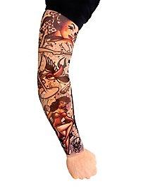 Rockabilly Manches de peau tatouée
