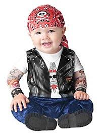 Rocker Babykostüm