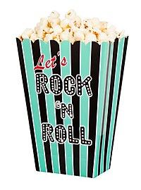Rock'n'Roll Popcorntüten 4 Stück