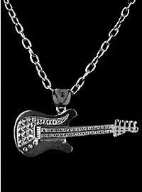 Rockstar Guitar silver Medallion