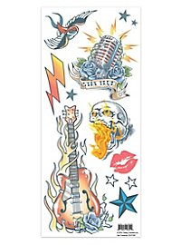 Rockstar Klebe-Tattoo Set