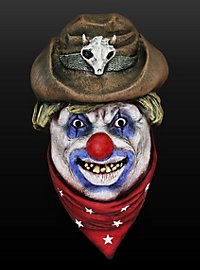 Rodeo-Clown Maske aus Latex