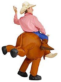 Rodeo-Reiter Aufblasbares Kostüm