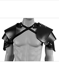 Rogue Leather Shoulder Guards