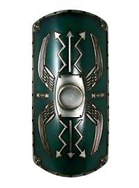 Roman Shield Scutum Deluxe green Foam Weapon