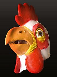 Rooster Full Mask Made of Latex