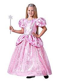 Rosa Glitzerkleid für Kinder