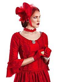 Rote Dame Kostüm