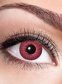 Rote Iris Kontaktlinse mit Dioptrien