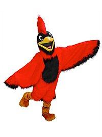 Roter Kardinal Maskottchen