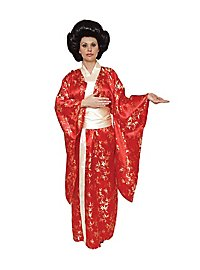 Roter Kimono