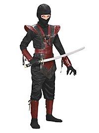 Roter Ninja Kinderkostüm