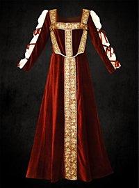 Renaissance Samtkleid - Honoria