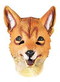 Rotfuchs Maske aus Latex
