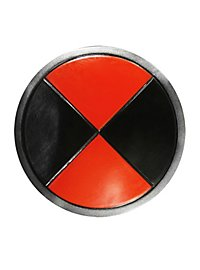 Round Shield black-red Foam Weapon