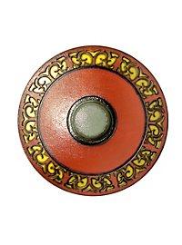 Round Shield red