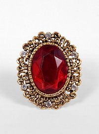 Ruby Brooch