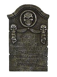 Runes & Skulls Headstone