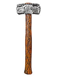 Rustikaler Hammer Spielzeugwaffe
