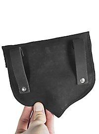 Sacoche de ceinture en forme de gland noir