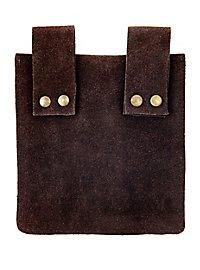 Sacoche de ceinture marron