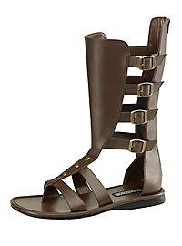 Sandales de gladiateur marron