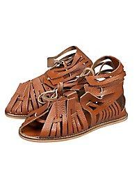 Sandales de romain marron