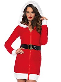 Santa Claus hooded dress