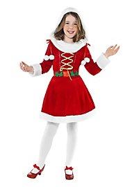 Santa Girl Kids Costume