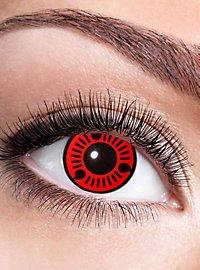 Sasuke Sharingan contact lens with diopters